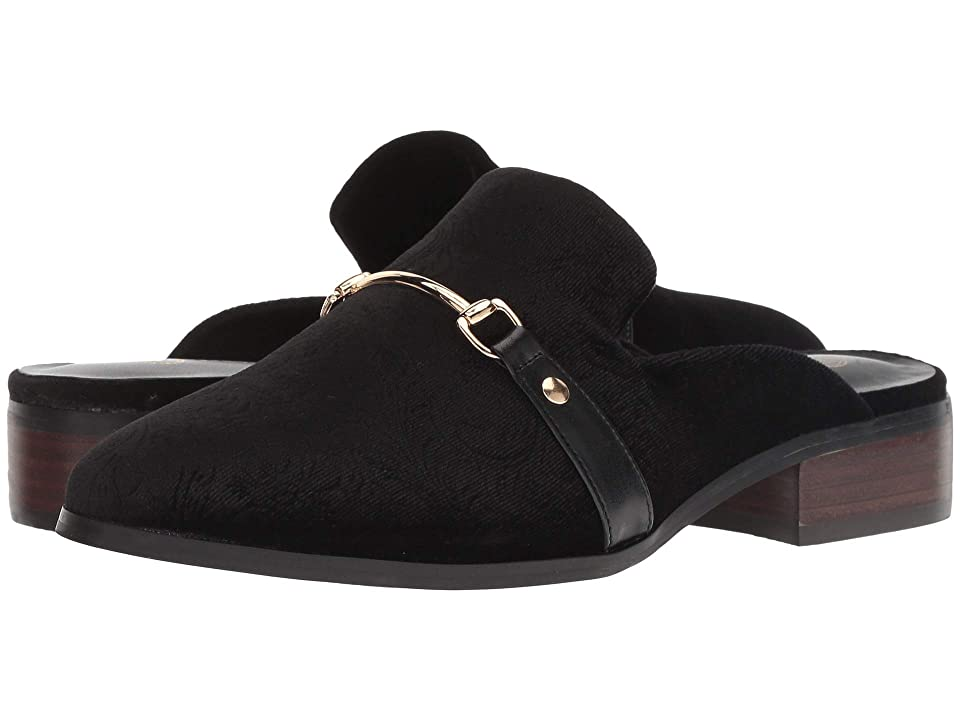 Bella-Vita Babs II (Black Embossed Velvet) Women