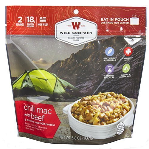 Wise Foods Entree Dish Chili Mac with Beef (2 Servings)