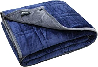 Pine and River Ultra Plush Weighted Blanket -Great for Winter | Minky Warm Luxury - (60