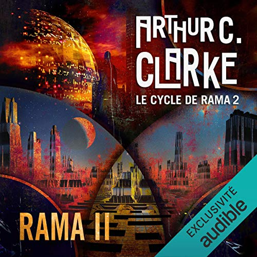 Rama II audiobook cover art