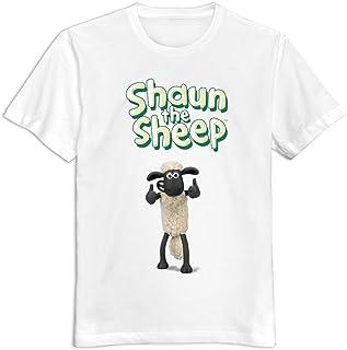 Hilary Susie Renhe Kids Cartoon Shaun The Sheep Logo T-Shirts XXXX-L