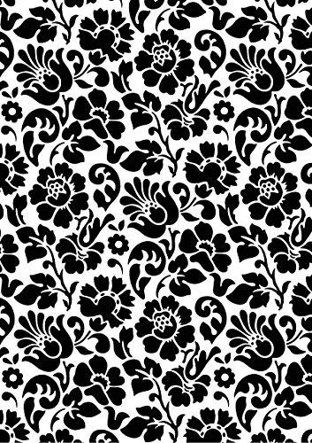 d-c-fix, Folie, Design Barock schwarz, Rolle 45 cm x 200 cm, selbstklebend