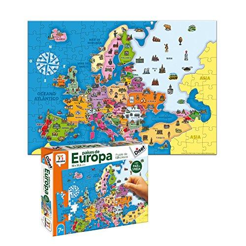 Diset- Juguete educativos Paises De Europa (68947)