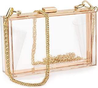 Best gold square clutch bag Reviews