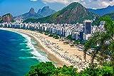 DesFoli Copacabana in Rio de Janeiro Skyline Poster