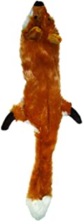 Ethical Pets Plush Skinneeez Fox 14-Inch Stuffingless Dog and cat squeaking Toy