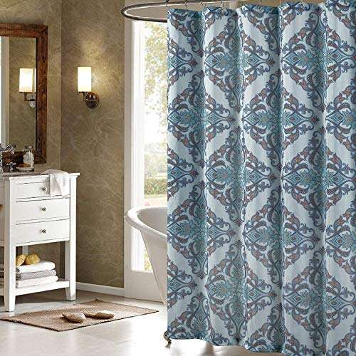 N \ A LANA Polyester Duschvorhang Bedruckt Duschvorhänge für Badezimmer Dekorative Badezimmer Gardinen 60 x 72 Zoll