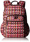 Vera Bradley Women's Signature Cotton Campus Backpack, Houndstooth Tweed, One Size