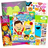 Make a Face Sticker Books for Kids Toddlers -- Set of 3 Jumbo Books with Over 90 Faces and 850 Stickers...