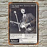 Kilburn 1964 Paul McCartney für Höfner Bassgitarren Retro