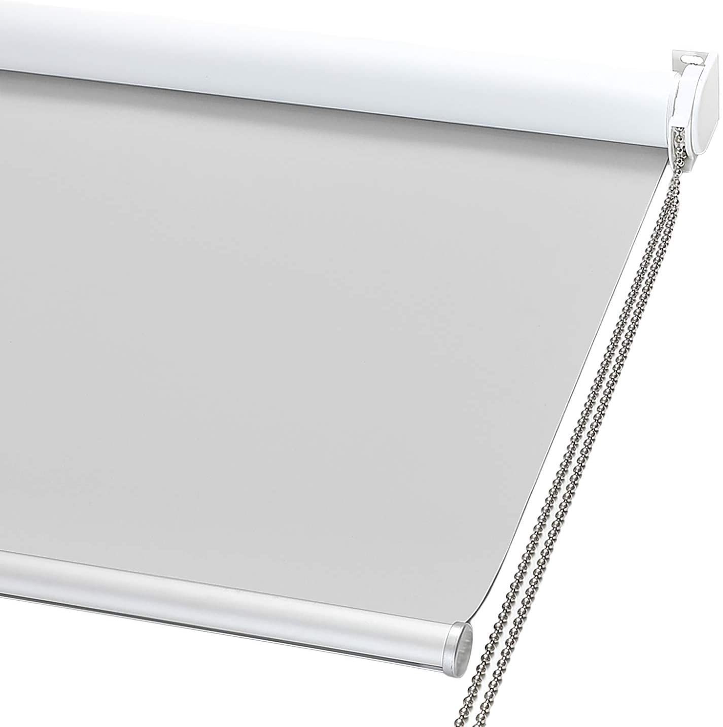 Max 49% OFF ChrisDowa Year-end gift 100% Blackout Roller Shade Blind Thermal with Window