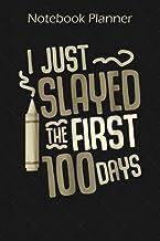 Notebook Planner 100 Days Of School For Girls Boys Teacher Adult Gift: Organizer, Planning, Wedding, 6x9 inch, Book, Homes...
