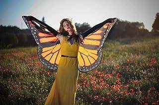 Alas mariposa Monarca - Disfraz de Hada
