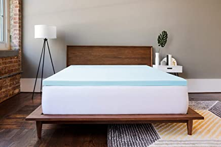 ViscoSoft 2 Inch Gel Memory Foam Queen Mattress Topper – Amazing Cloud-Like Comfort and Robust Support for Side,  Back,  Stomach Sleepers – Gel Infused for Temperature Regulation – Made in USA