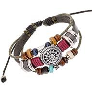 Women Lady Bohemia Wind Beaded Multilayer Hand Woven Bracelet Jewelry
