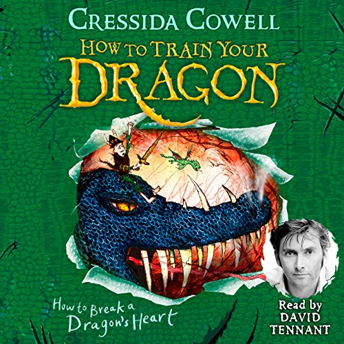 How to Break a Dragon's Heart     How to Train Your Dragon, Book 8              By:                                                                                                                                 Cressida Cowell                               Narrated by:                                                                                                                                 David Tennant                      Length: 4 hrs and 37 mins     35 ratings     Overall 4.9