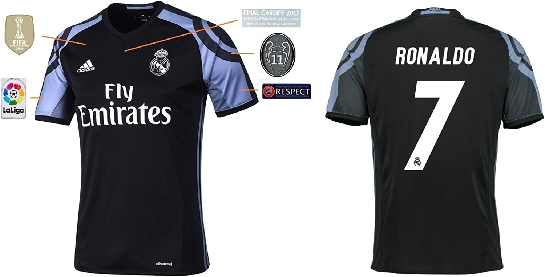 Trikot Herren Real Madrid Third Champions League Final Cardiff 2017 - Ronaldo 7