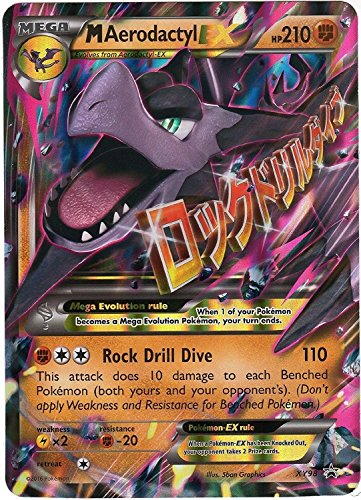Pokemon - Mega-Aerodactyl-EX (XY98) - XY Black Star Promos - Holo