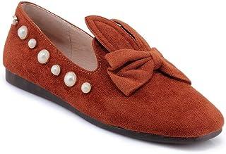 BalaMasa Womens APL11856 Imitated Suede Heels