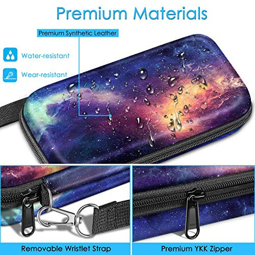 Graphing Calculator Carrying Case for TI-84 Plus CE, Fintie Hard EVA Shockproof Protective Box for TI-84 Plus/TI-83 Plus CE/Casio fx-9750GII (Galaxy) Photo #7