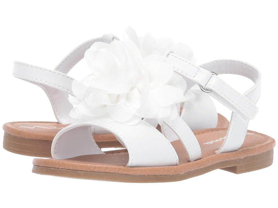 Nina Kids Anaya-T (Toddler/Little Kid) (White) Girls Shoes