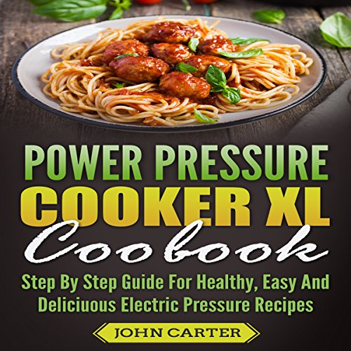 Power Pressure Cooker XL Cookbook cover art