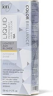 10A Lightest Ash Blonde Permanent Liquid Hair Color