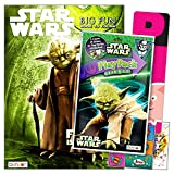 Star Wars Yoda Coloring Book Pack with Stickers Bundle Includes Separately Licensed GWW Reward Stickers and Bookmark for Kids