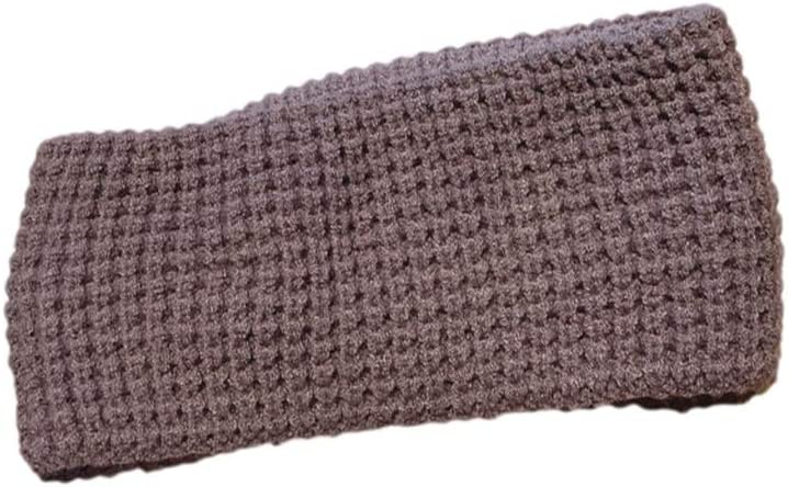 Ear Covers Ear Muffs Runners Headbands for Women Ear Warmer Headband Suitable for Many Occasions, Such Climbing The Snow Mountain Ear Wrap (Color : Brown)