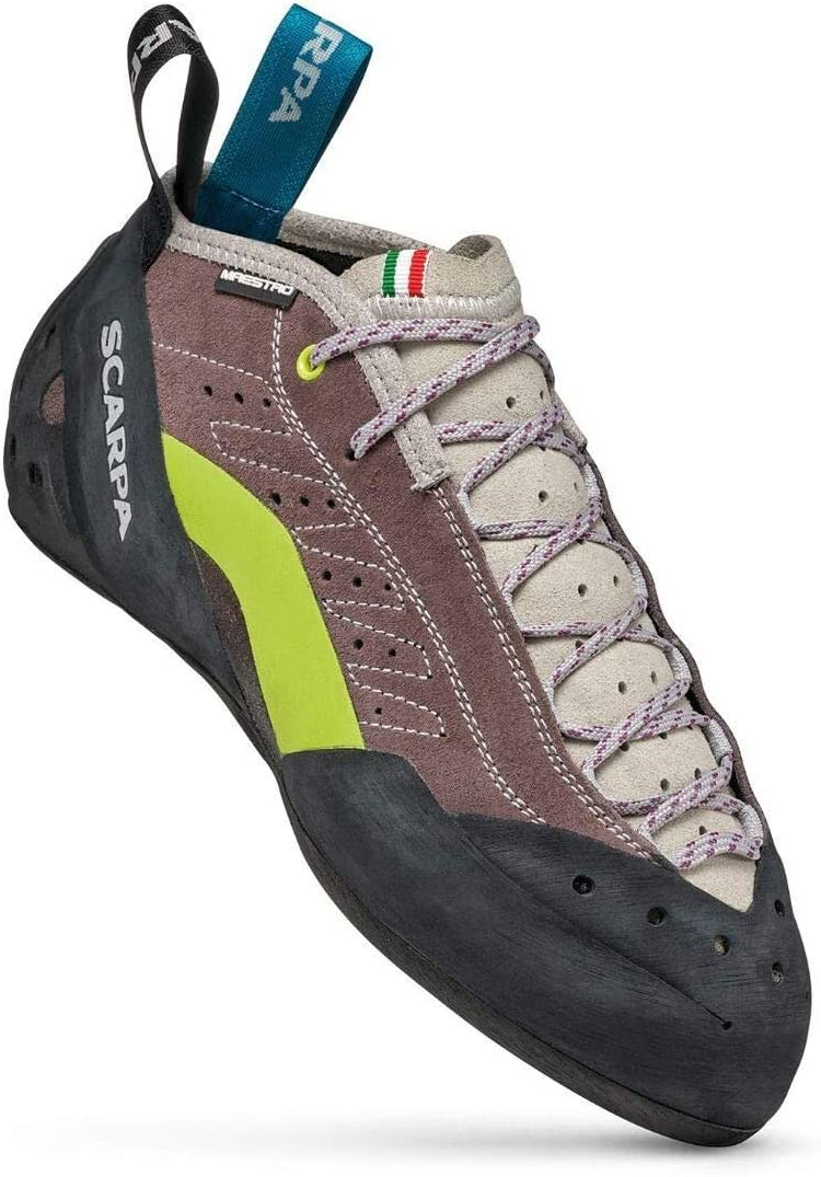 SCARPA Maestro Mid Eco Wmn, Climbing Shoes for Women Brown Size: