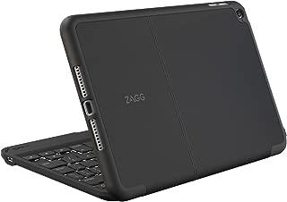 ZAGG Folio Case, Hinged with Backlit Bluetooth Keyboard for iPad mini 4 - Black