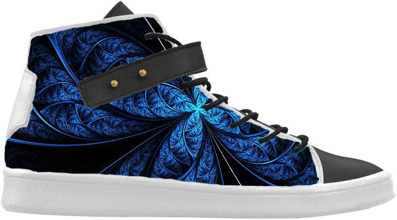 HSL Tillfälliga skor för kvinnor, blomsterklacker med med med tryckta springaaada skor för kvinnor  lagra på nätet