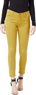 The Dry State Women Denim Mustared Coloured Solid JeansWJEA_594A_1499_30