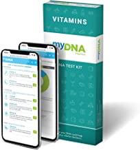 myDNA Vitamins DNA Test - Personalize Your Daily Vitamin Intake. Only Take What Your Body Needs. Insights Cover Vitamins A, B6, B12, C, D, Omega-3, Iron, Calcium & Folate