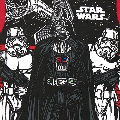 Star Wars Pijama para Niños Ajuste Ceñido Multicolor 10-11 Años