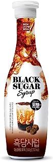 [Nokchawon] Black Sugar Syrup for Tea, Easy to Use, Tube Type, Mascovado 50%, Easy to Make Black Sugar Latte, Black Sugar ...