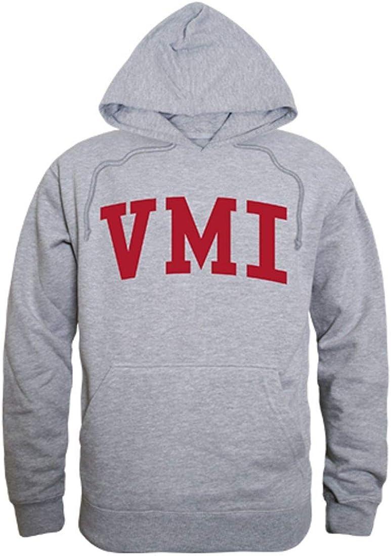 VMI Virginia Military Institute Game Day Hoodie Sweatshirt Heather Grey