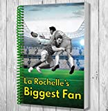 La Rochelle's Biggest Fan A5 Rugby Notebook / Notepad / Drawing Pad