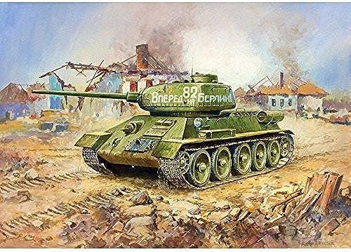 marca Zvezda 5007850391  72-T-34 85Soviet 85Soviet 85Soviet Medium Tank WWII by Zvezda  n ° 1 en línea
