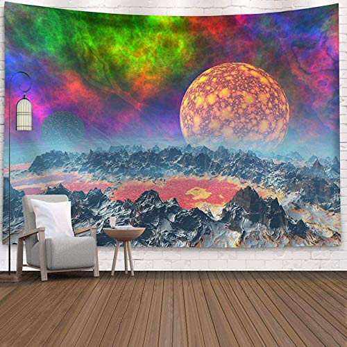 NAIDELI India Mandala Tapestry Wall Hanging Sun Moon Tarot Wall Tapestry Wall Carpet Psychedelic Tapiz Witchcraft Wall Cloth Tapestries
