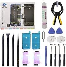 MEEFIX 18Pcs Cell Phone Battery Screen Repair Tool Kit Screwdriver Set with Screw Magnetic Mat/Pad for iPhone 8 Plus