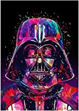 Ukerdo Colorful Extraterrestrial Pictures for Home Wall Arts Décor Gift DIY Diamond Painting Kits