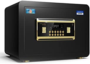 LLRYN Steel Security Safe Deposit Box with Digital Keypad for Home Office and Hotels to Store Cash Jewelry Passport (Color...