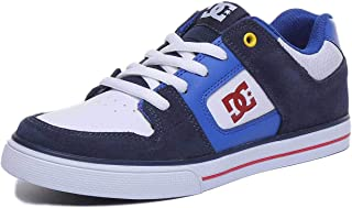 DC Boy's Pure B Shoe Leather Sneakers
