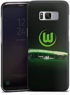 DeinDesign Hard Case kompatibel mit Samsung Galaxy S8 Schutzhülle schwarz Smartphone Backcover Offizielles Lizenzprodukt VFL Wolfsburg Stadion