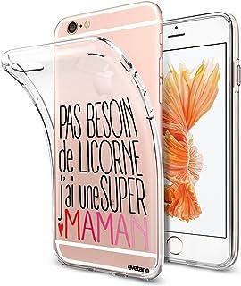 coque iphone 6 evetane licorne