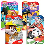 Nick Jr Paw Patrol Board Book Combo ~ 4 Shaped Board Books for Toddlers Kids