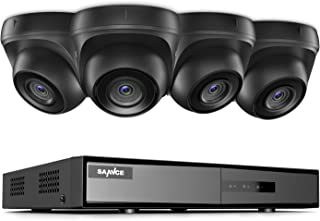 SANNCE Security Camera System 8CH HD-TVI 1080N DVR and (4) HD 720P/1280TVL Indoor/Outdoor Weatherproof Surveillance Camera...