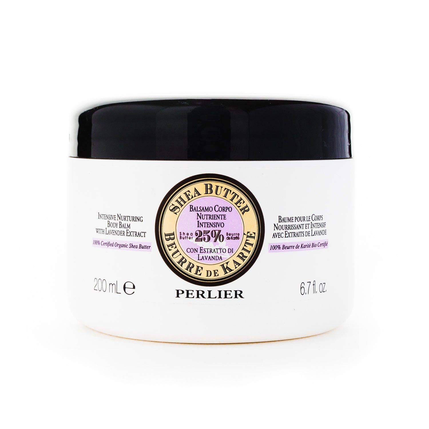 Limited price sale Perlier SALENEW very popular! Shea Butter with Lavender Nurturing Body fl. Balm 6.7 o