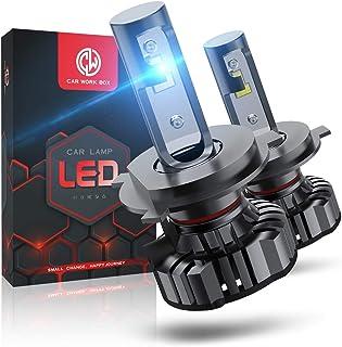 H4 LED 12000LM, Ampoule 6000K, 12V